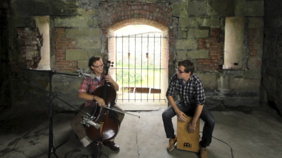 Ben Sollee concert at Paste Ruins at Newport Folk Festival on Jul 29, 2012