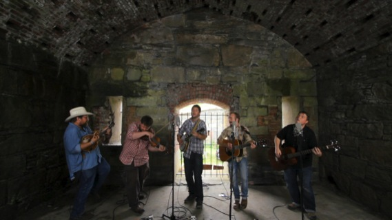Trampled By Turtles concert at Paste Ruins at Newport Folk Festival on Jul 29, 2012