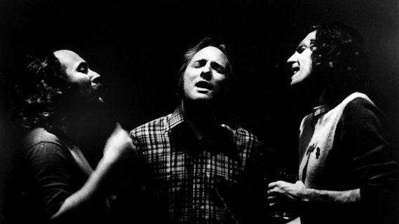 Crosby, Stills & Nash concert at Winterland on Oct 7, 1973