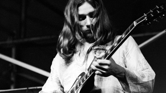 Dickey Betts concert at Winterland on Dec 14, 1974