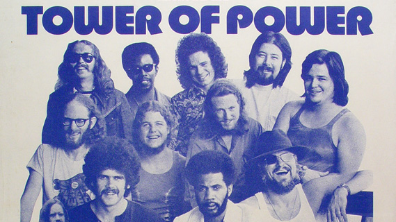 Tower of Power concert at Winterland on Dec 31, 1974