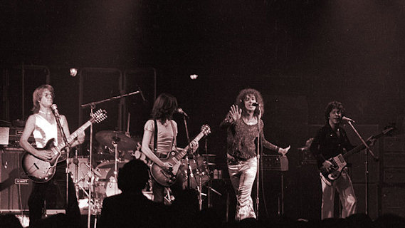 Earth Quake concert at Winterland on Dec 6, 1975