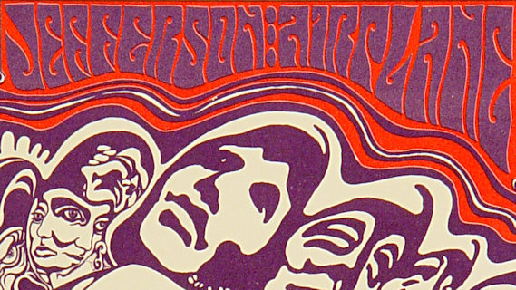Jefferson Airplane concert at Fillmore Auditorium on Feb 6, 1967