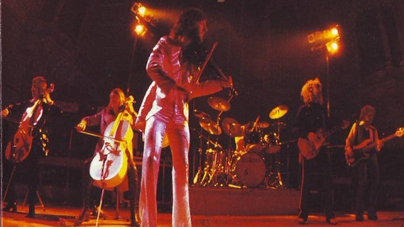Electric Light Orchestra concert at Winterland on Feb 14, 1976