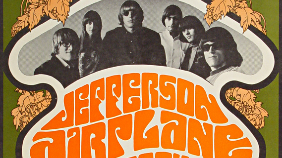 Jefferson Airplane concert at O'Keefe Center on Aug 5, 1967