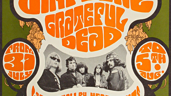 Grateful Dead concert at O'Keefe Center on Aug 5, 1967