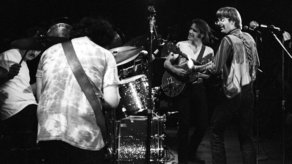 Grateful Dead concert at Winterland on Oct 4, 1970