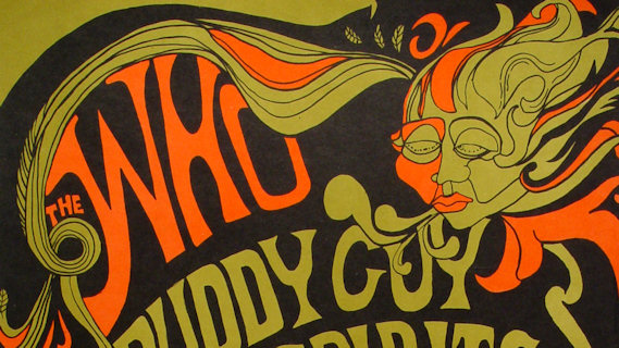 The Who concert at Fillmore East on Apr 6, 1968
