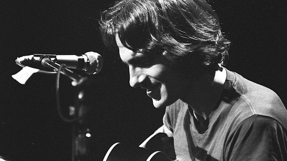 James Taylor concert at Berkeley Community Theatre on Oct 22, 1970