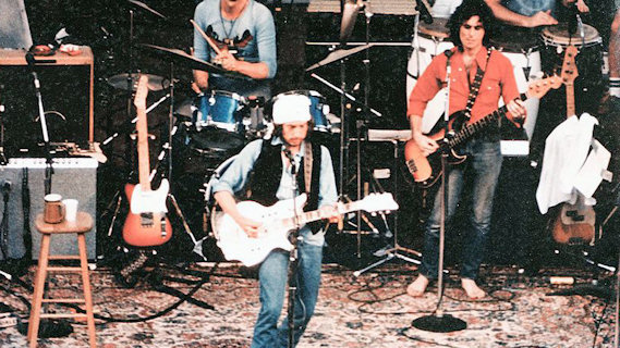 The Rolling Thunder Revue concert at Madison Square Garden on Dec 8, 1975