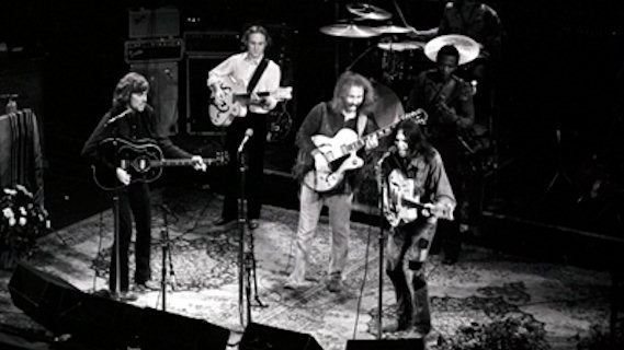 Crosby, Stills, Nash &amp; Young concert at Fillmore East on Jun 4, 1970