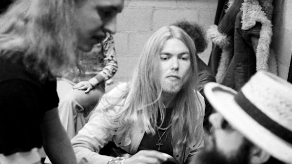 The Allman Brothers Band concert at Cow Palace on Dec 31, 1973