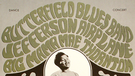 Jefferson Airplane concert at Fillmore Auditorium on Oct 14, 1966