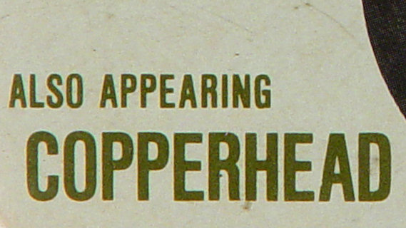 Copperhead concert at Winterland on Sep 1, 1973