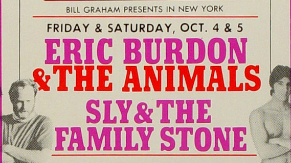 Sly & the Family Stone concert at Fillmore East on Oct 5, 1968