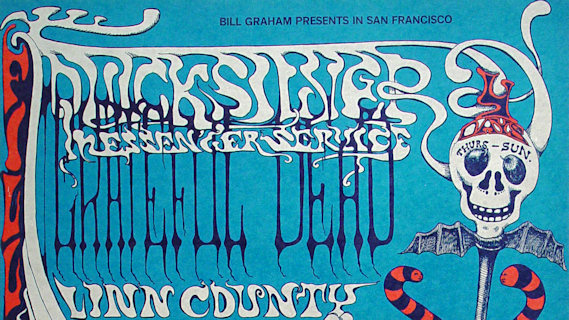 Quicksilver Messenger Service concert at Fillmore West on Nov 7, 1968