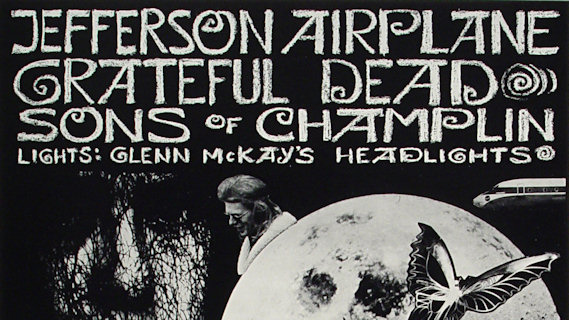 Jefferson Airplane concert at Winterland on Oct 25, 1969