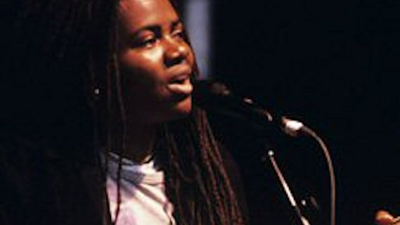 Tracy Chapman concert at Oakland Coliseum Stadium on May 27, 1989