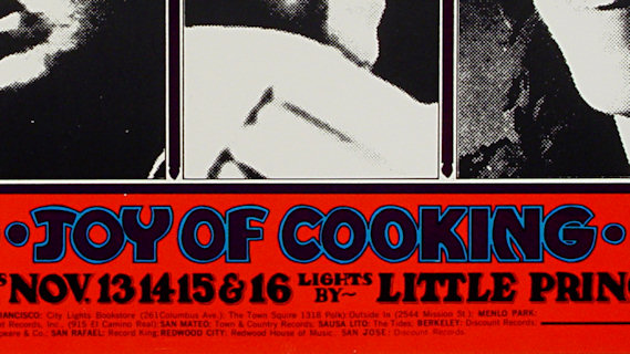 Joy of Cooking concert at Fillmore West on Nov 13, 1969