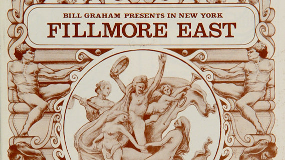 King Crimson concert at Fillmore East on Nov 21, 1969