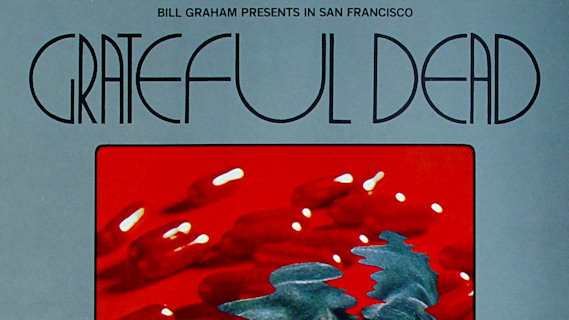 Grateful Dead concert at Fillmore West on Dec 5, 1969