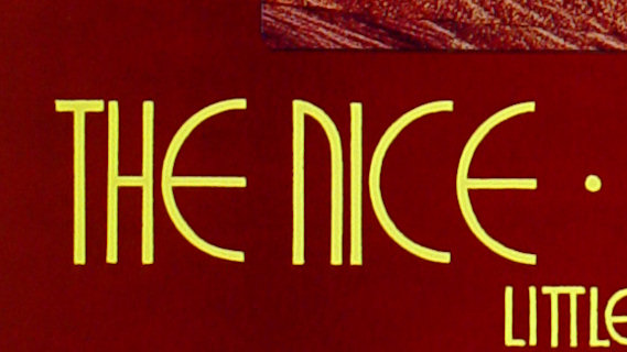 The Nice concert at Fillmore West on Dec 12, 1969