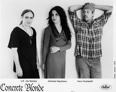 Concrete Blonde Promo Print