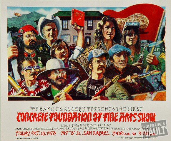 Concrete Foundation Postcard