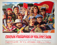 Concrete Foundation Poster