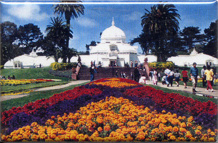 Conservatory of Flowers Magnet