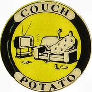 Couch Potato Pin