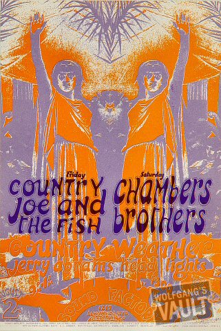 Country Joe & the Fish Handbill