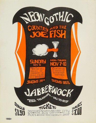 Country Joe &amp; the Fish Handbill