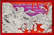 Country Joe &amp; the Fish Postcard