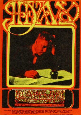 Dan Hicks & His Hot Licks Postcard