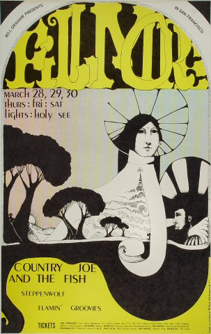 Country Joe & the FishPoster