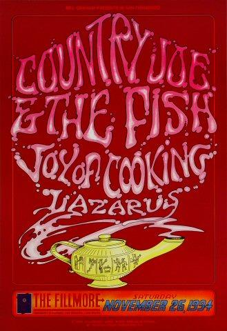 Country Joe &amp; the Fish Poster