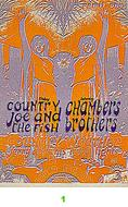 Country Joe & the Fish Vintage Ticket