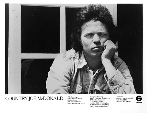 Country Joe McDonald Promo Print