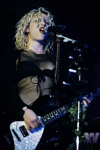 Courtney Love Fine Art Print