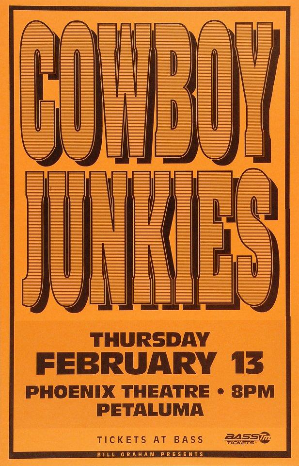 Cowboy JunkiesPoster