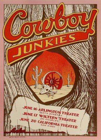 Cowboy Junkies Poster