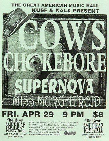 Cows Handbill
