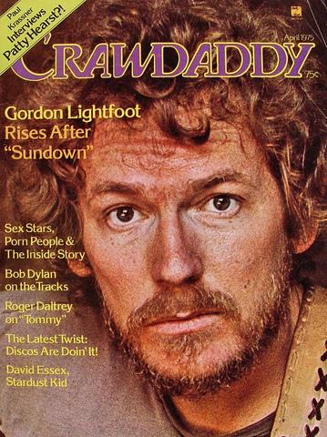 Crawdaddy April 1975 Magazine