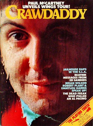 Crawdaddy April 1976 Magazine