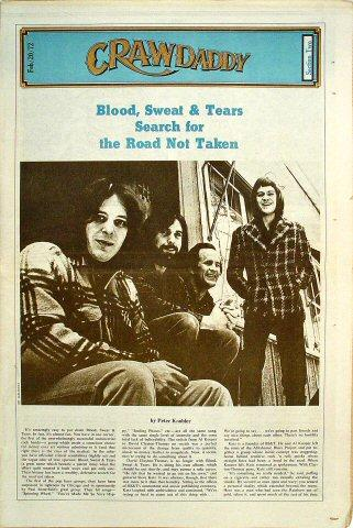 Crawdaddy February 1972 Magazine