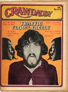 Crawdaddy March 1972 Magazine