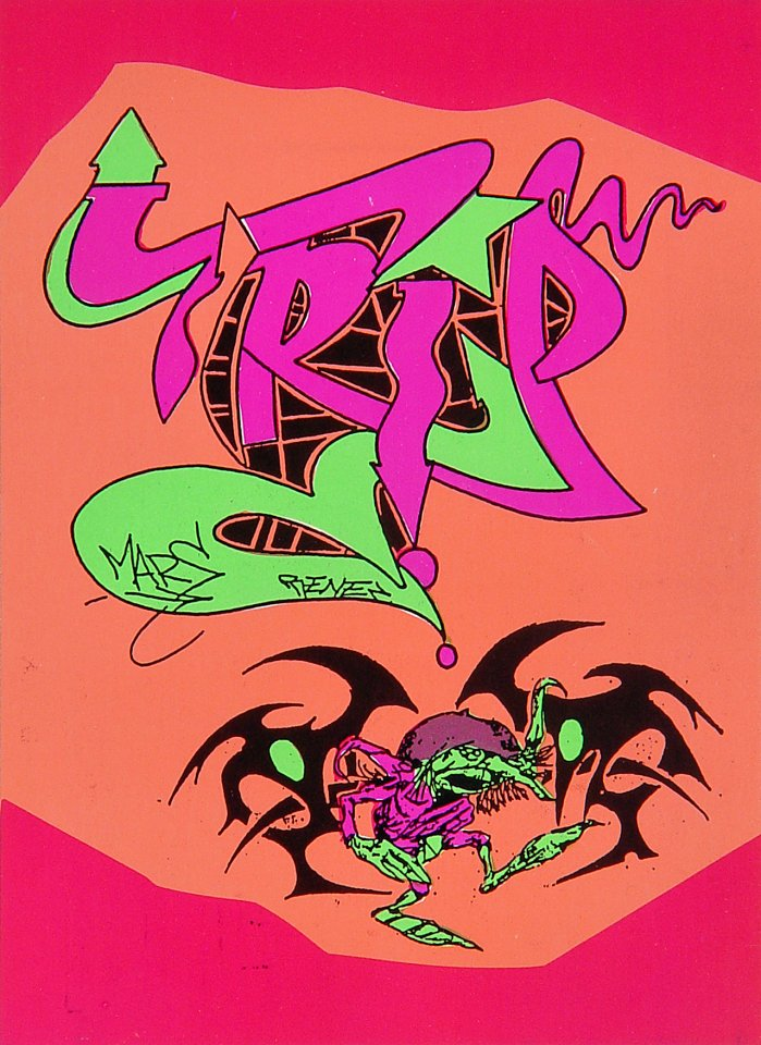 Crazy Hype Tattoo Night Handbill