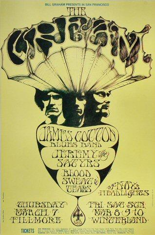 James Cotton Blues Band Poster