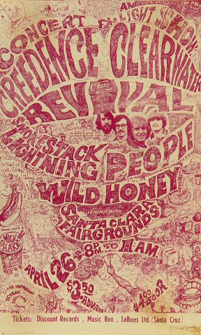 Creedence Clearwater RevivalHandbill